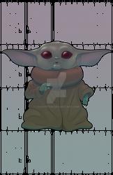Baby Yoda dadadadada