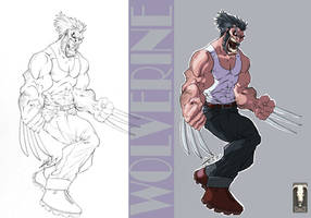 Wolverine - Colors by Juggertha