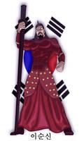 Admiral Yi Sun Shin by Juggertha