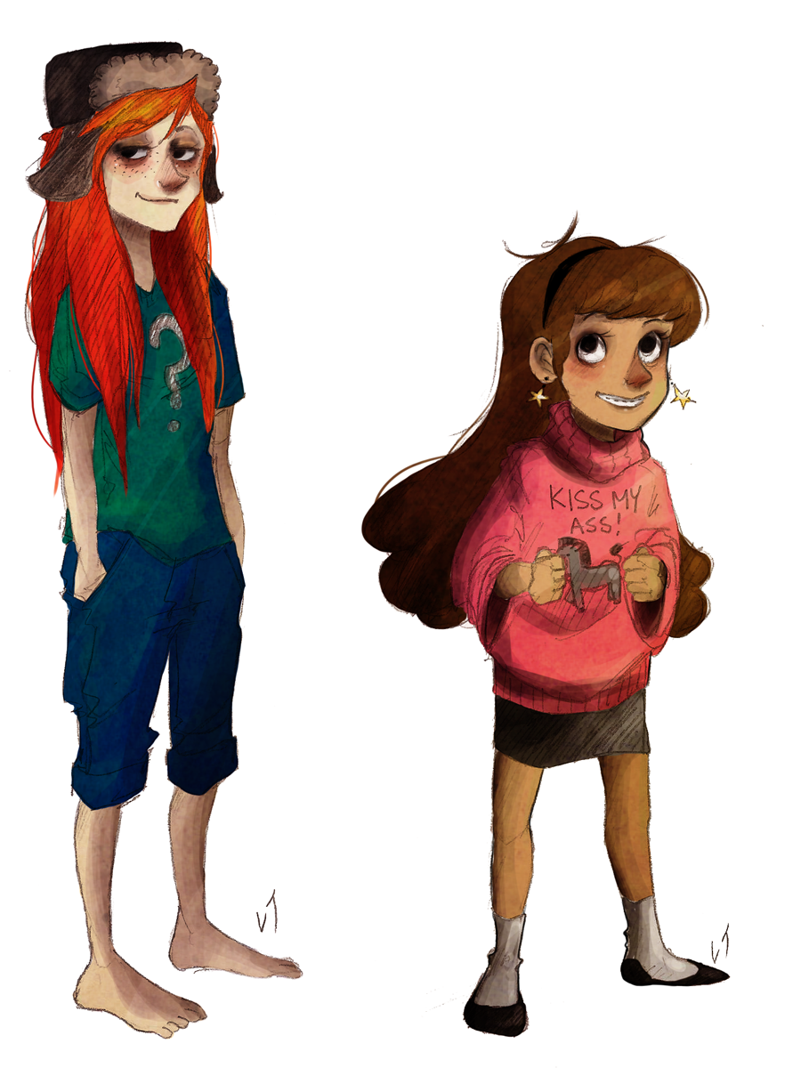Wendy and Mabel by Deserea-Q