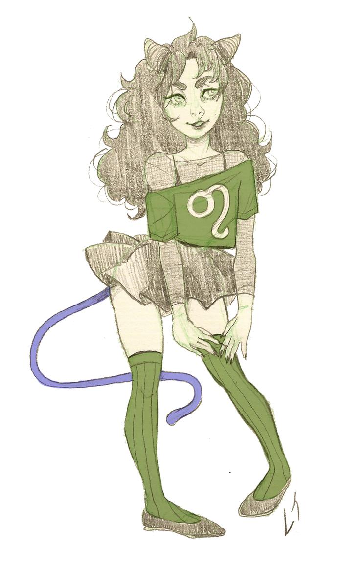 meulin sketch by Deserea-Q