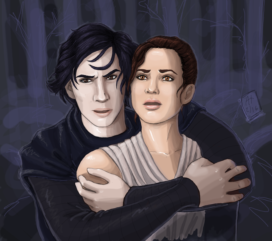 Reylo a Day Drives the Artistic Hiatus Away by NeitiCora