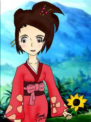 Fuu with Sunflower