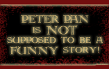 Peter Pan NOT funny by BenDaImmortal