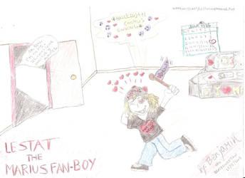 Lestat the Marius Fan Boy by wolfMancub