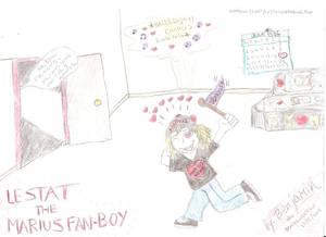 Lestat the Marius Fan Boy