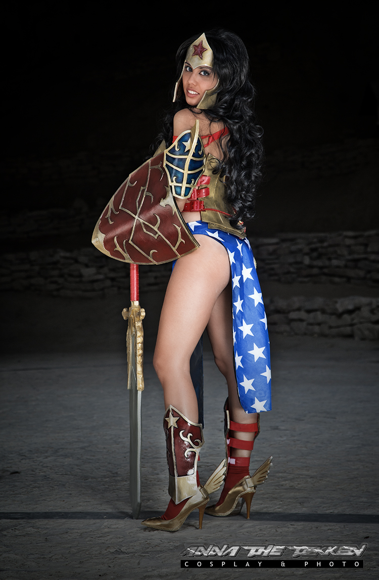 Wonder Woman by Annathetekken