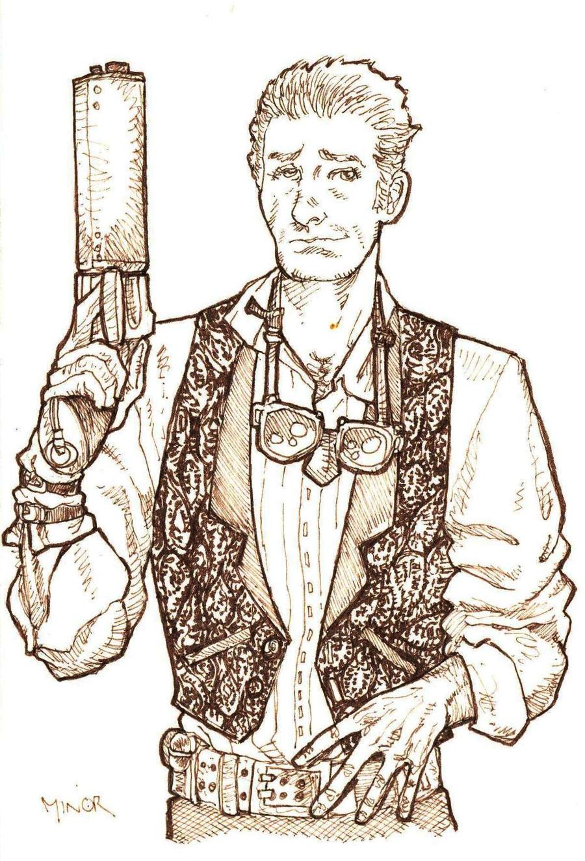 Generic Steampunk Hero Guy By Jerantino On Deviantart