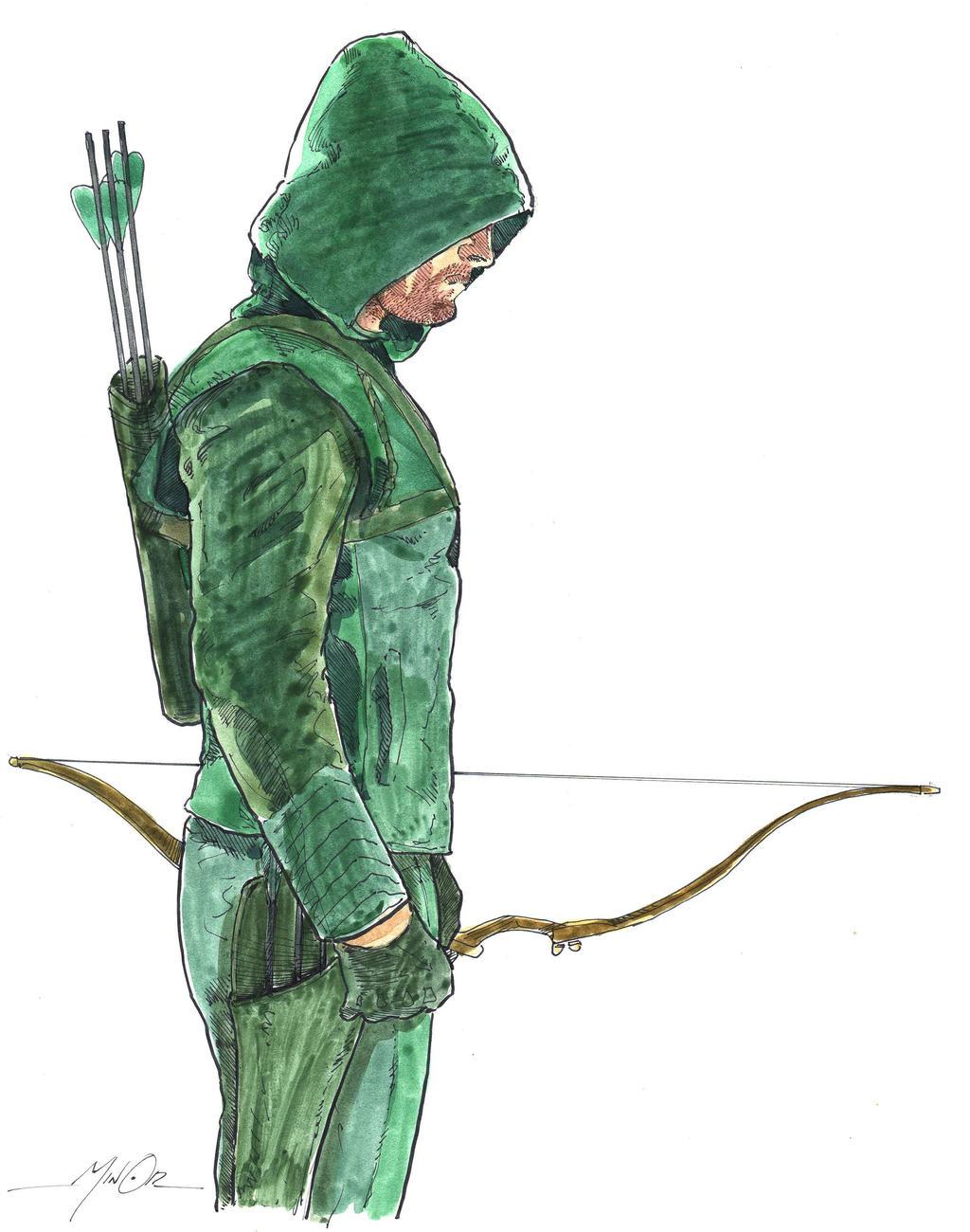 Arrow CW By Jerantino On DeviantArt