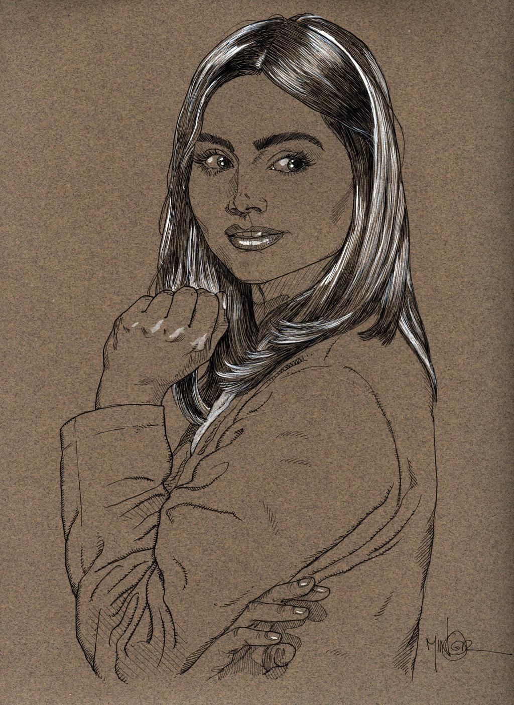 Souffle Girl by Jerantino