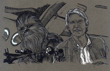 Chewie, we're home! by Jerantino