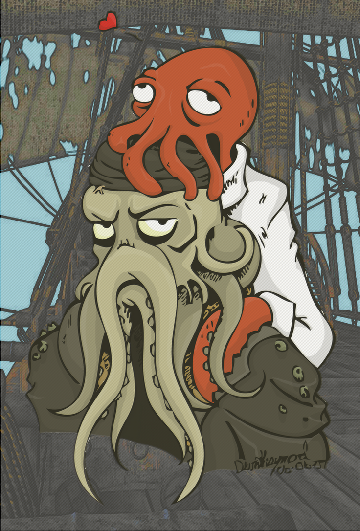 Here's Looking At You Squid by The-Great-Radio