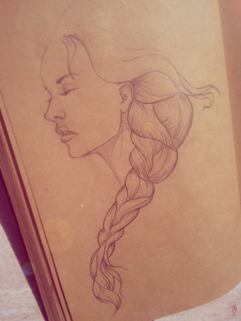 Braid girl by alch3mist-design