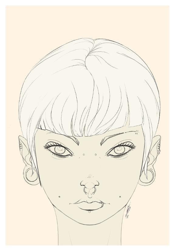 Punk girl by alch3mist-design