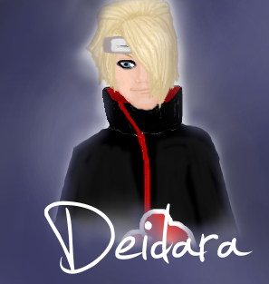 Deidara by KilljoyNeon-Angel