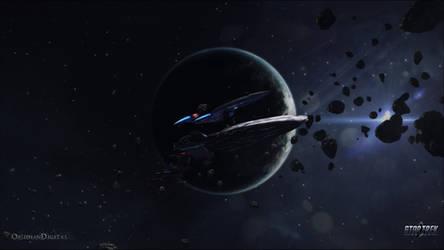Star Trek Online - Kumari Escort Wallpaper 1080P by ObsidianDigital
