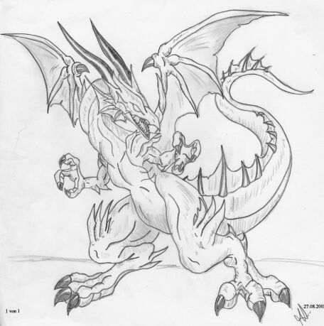 Gallery For > Fire Dragon Sketches