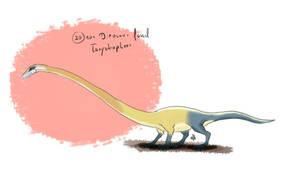 30 Day Dinosaur Drawing Challenge: Day 20