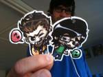 Rhett and Link Keychains