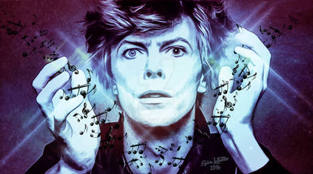 David Bowie by cylevie