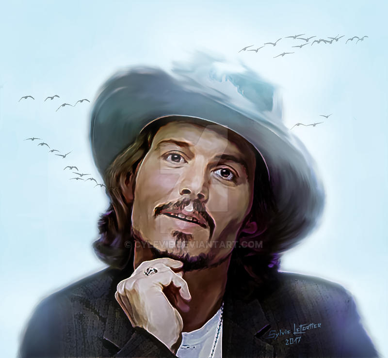 Johnny Depp by cylevie