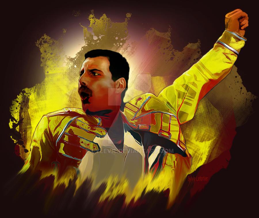 Freddie mercury by cylevie