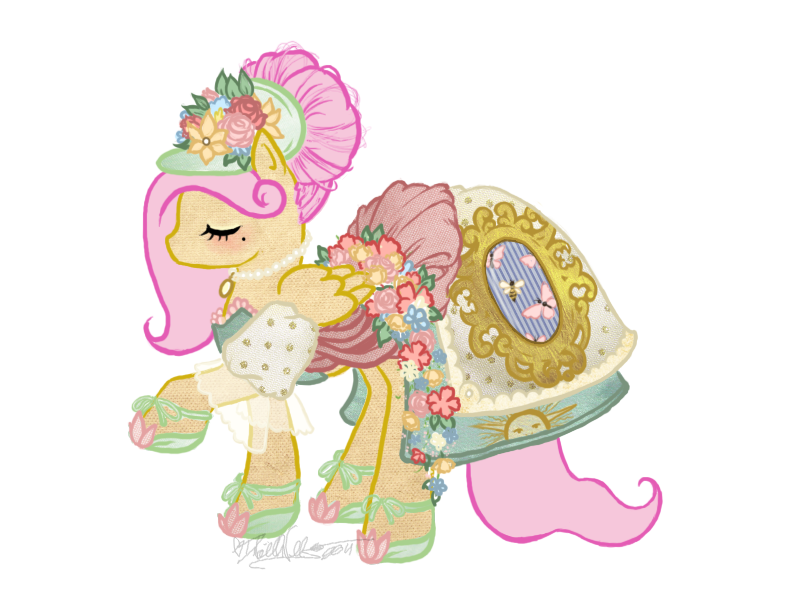 French haute couture for fluttershy by requiembelle on for What does couture mean in french