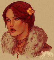GuildWars: Esme Merinova by Vulpes-Rex