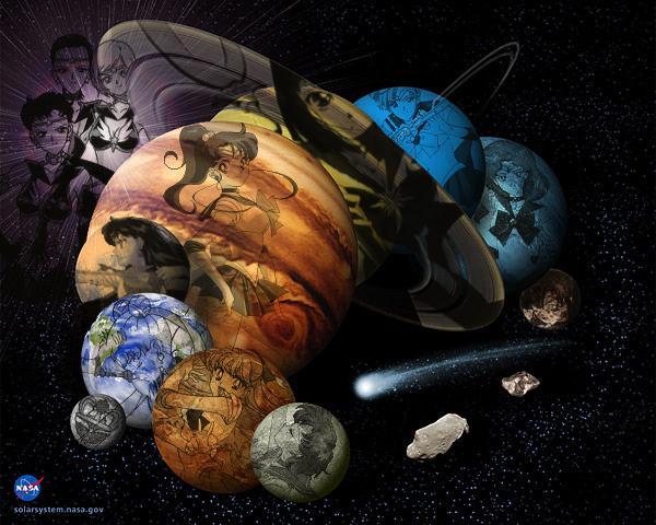 sailor moon solar system - photo #37