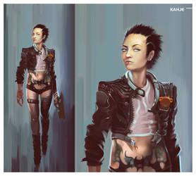 Seline Kahje artbook by ArtemyMaslov