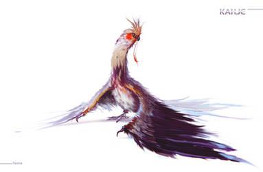 Sargon bird by ArtemyMaslov