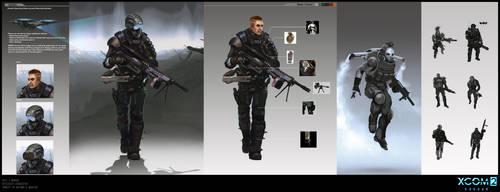 X-Com 2 character concept art by ArtemyMaslov