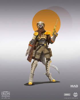Iron Wings / Seguro Crew Captain Tha`Chanka