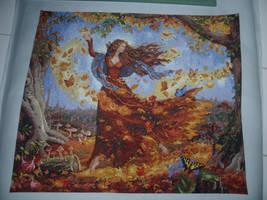 Fall Fairy by ladyofthegate