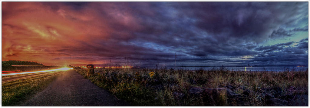 DD: A78 after sun set by Dr-Koesters