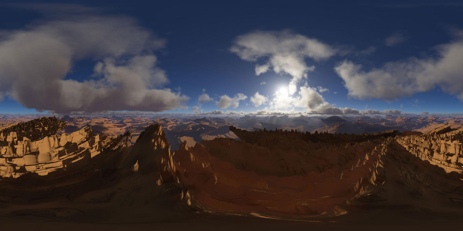 360 Terragen 2 Back ground by Dr-Koesters