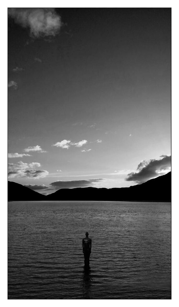 Mirror Man Loch Earn, St Fillans, Scotland by Dr-Koesters