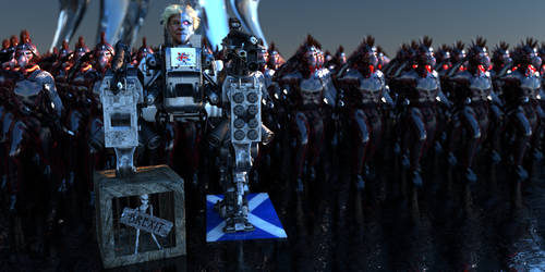 Maybot and her Clone army