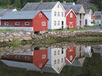 Norway Village Reflection 1