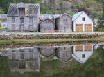 Norway Village Reflection 2