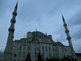 Blue Mosque 1 by RozenGT