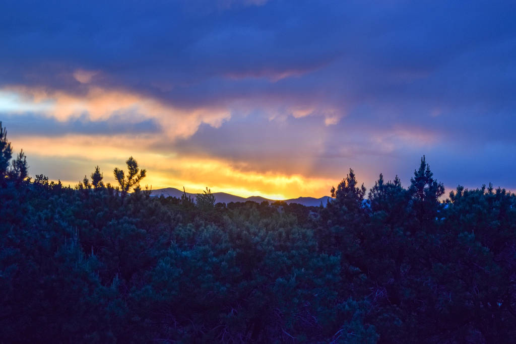 New Mexico Sunset by RozenGT