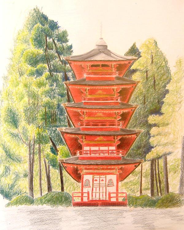 Pagoda by rrrawr