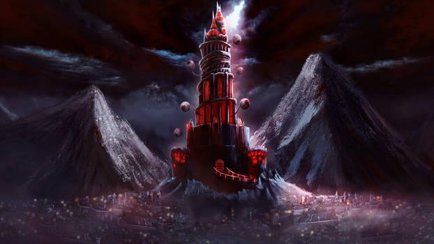 gloomy castle