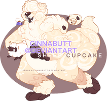 Sheep Cupcake by Cinnadog