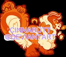 Cinnamini l Pumpkin Pie by Cinnadog