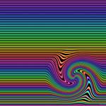 Technicolor disturbance