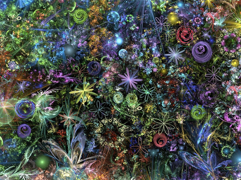 Fractal garden