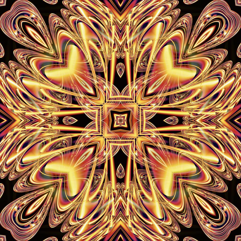 The Love Mandala by Kancano