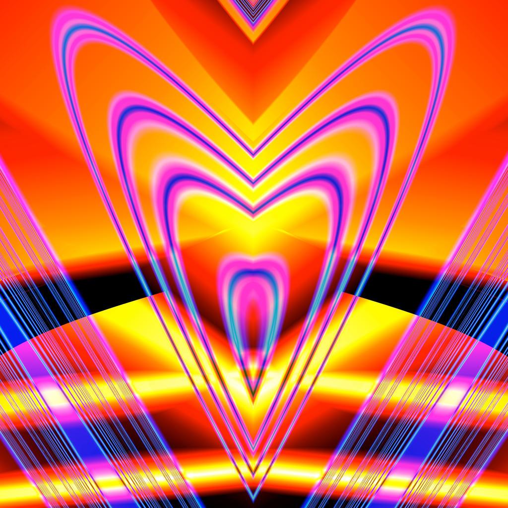 Psychedelic Valentine by Kancano